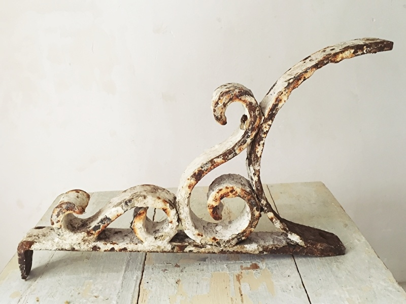 Wonderlijk Antiek gietijzeren ornament | - Woonaccessoires | Brocante Webshop EI-89