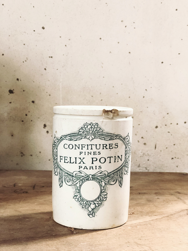 Confiture pot - Felix Potin -