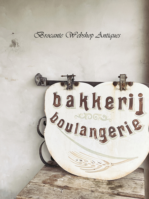 Reclamebord/Uithangbord bakkerij boulangerie