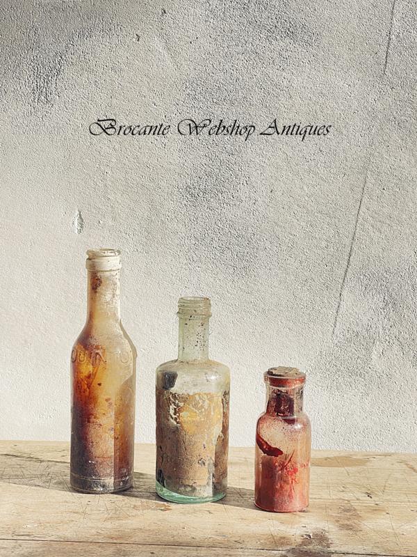 Setje antieke flesjes
