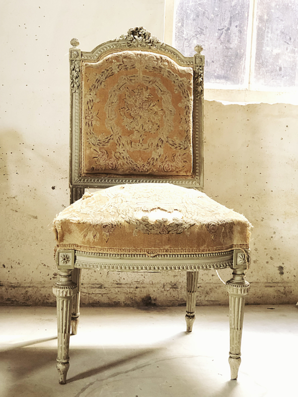 Antique French Bow Chair Furniture