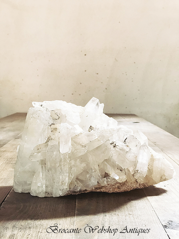 Big piece of crystal stone