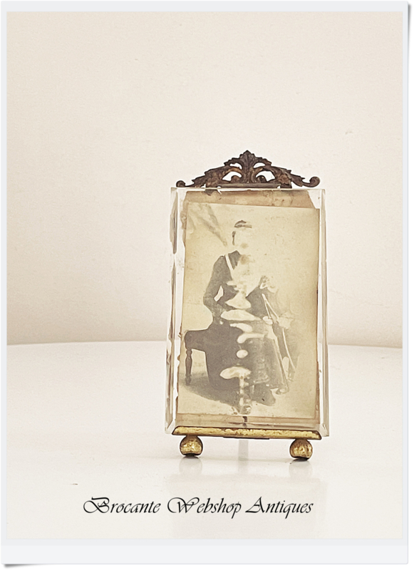 Antique french small frame