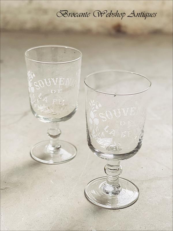 Souvenir de Fête glass XL size