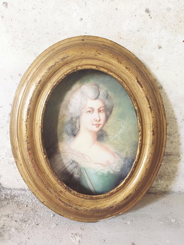 Klein pastel portret