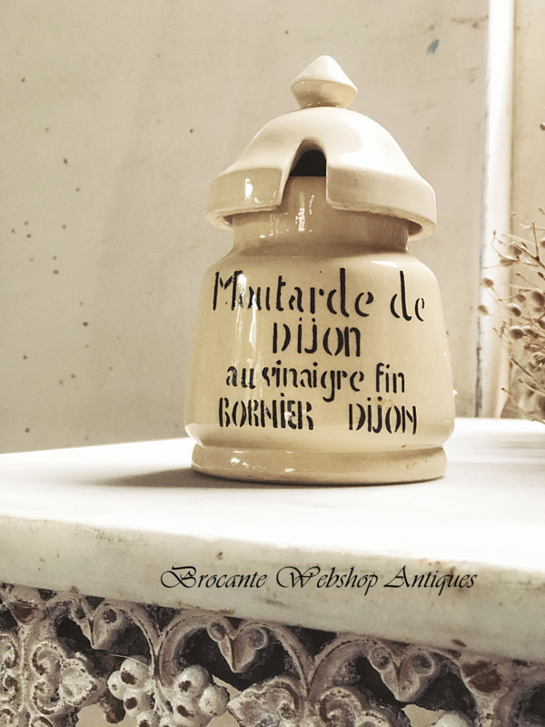 Franse mosterdpot
