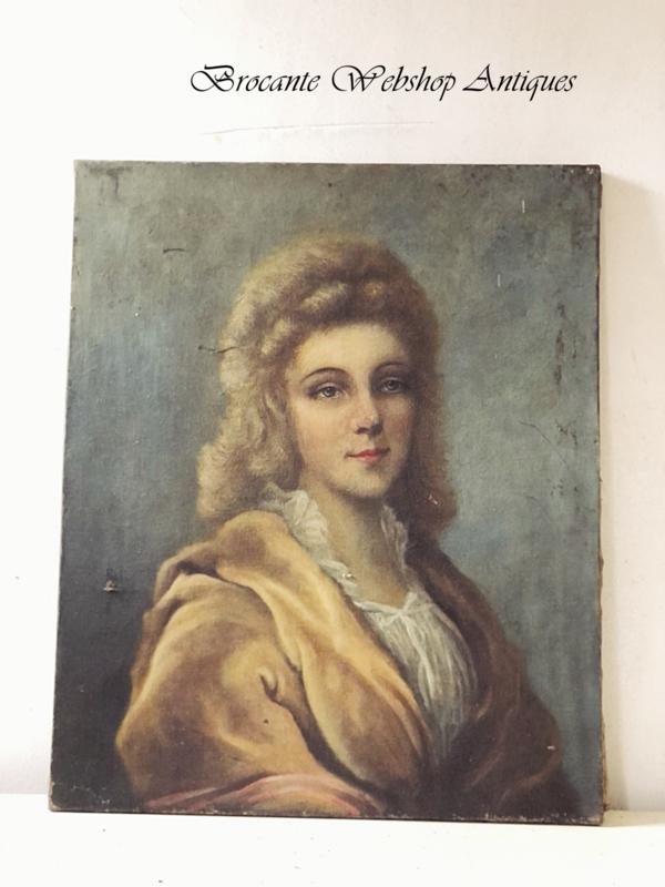 Beautiful antique portrait