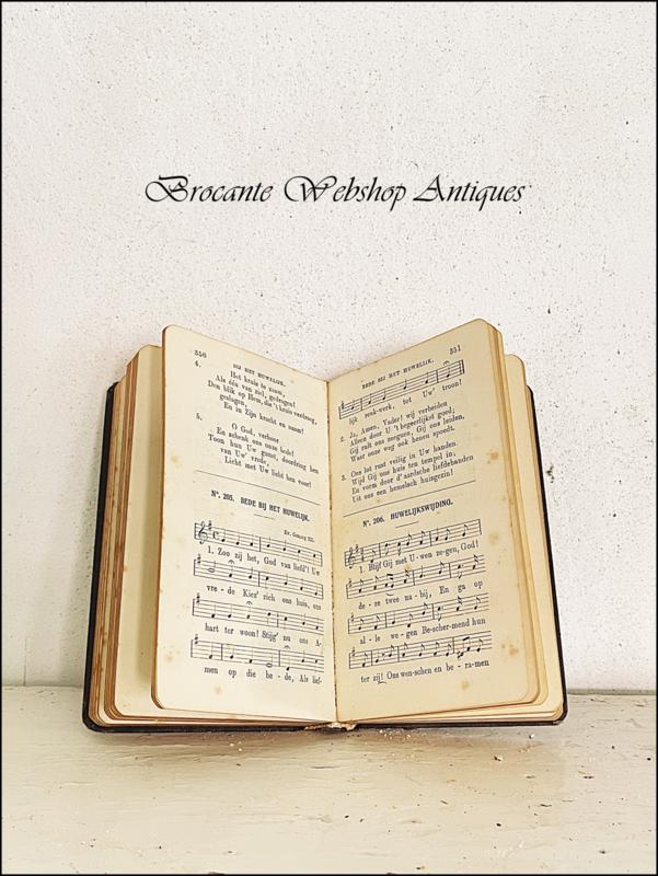 Mooi kerkliederen boekje