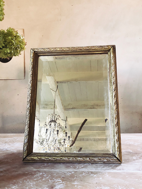 French old mirror