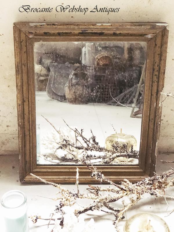 Antieke franse spiegel