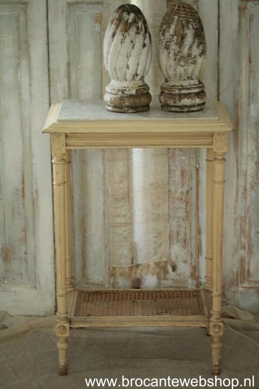 Verwonderlijk Antiek frans tafeltje VERKOCHT | - Verkocht....... | Brocante FO-39