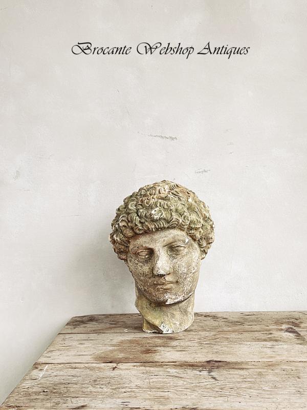 Antiek hoofd Hermes