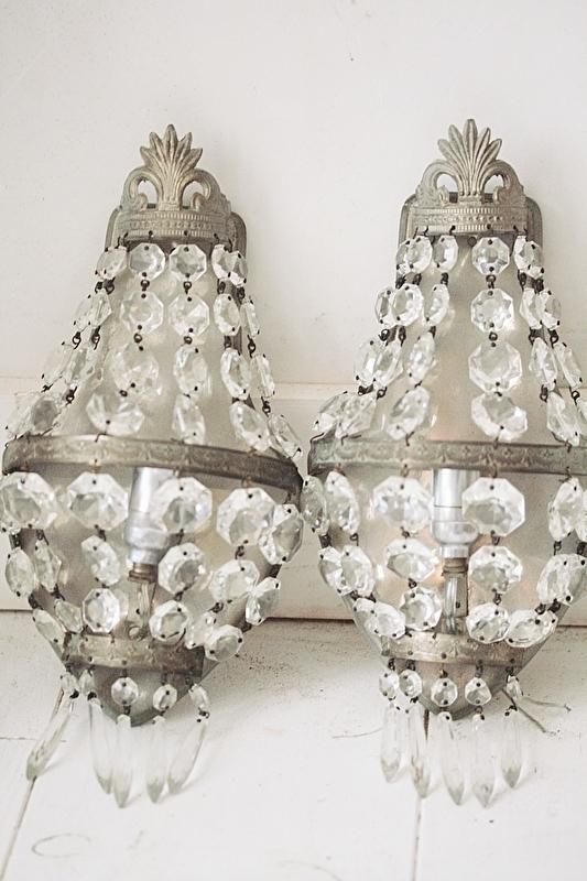 Set wandlampjes