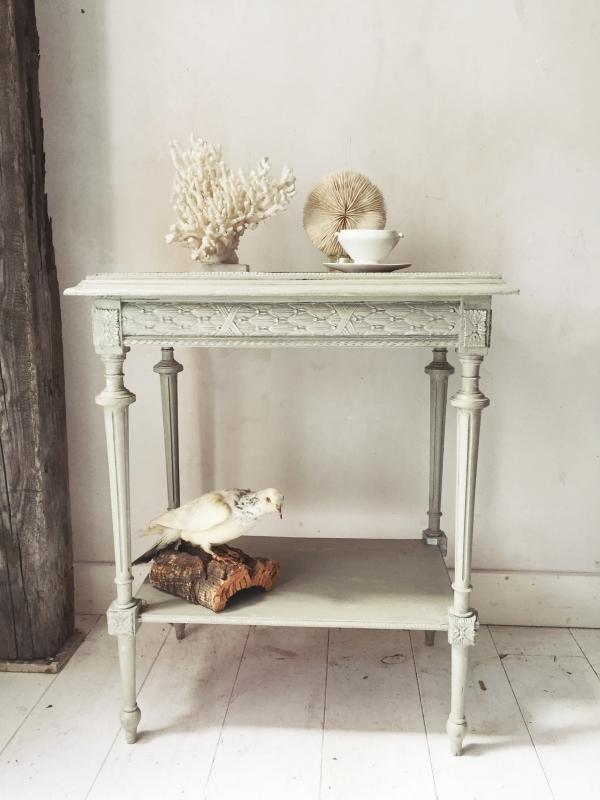 Fonkelnieuw Antiek frans tafeltje/ Antique french table - Louis XVI NO-89