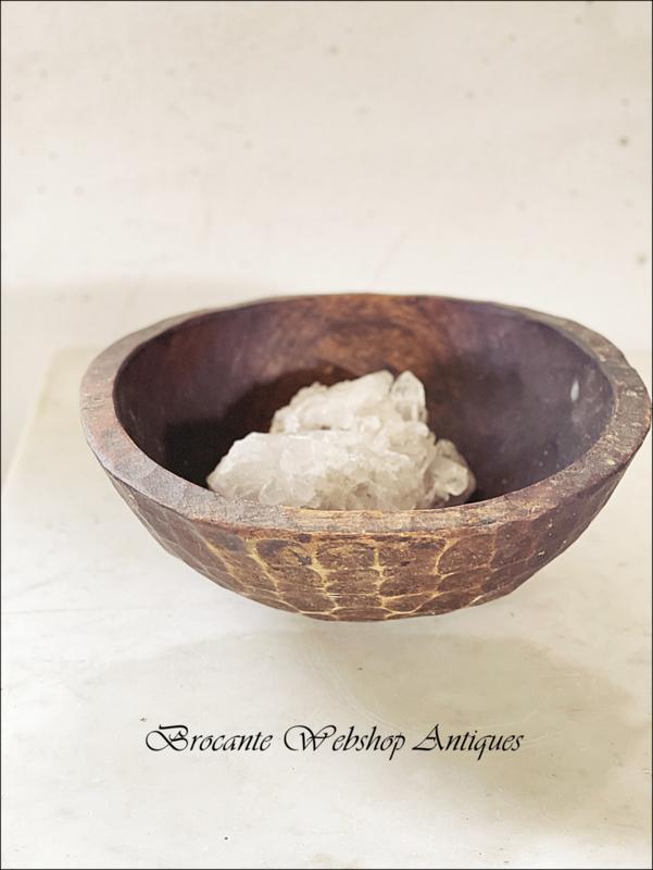 Prachtige houten bowl/schaal