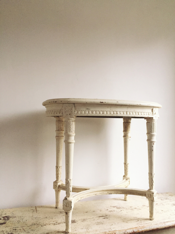 Ongekend Frans tafeltje Louis XVI | - Verkocht....... | Brocante Webshop BN-44