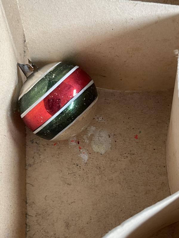 Oude kerstbal