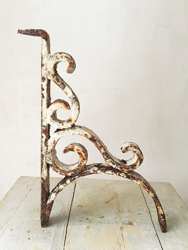 Wonderlijk Antiek gietijzeren ornament | - Woonaccessoires | Brocante Webshop SL-41