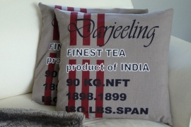 "Kussen ""Darjeeling"" 50 x 50"