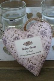 """Hartje """"Belles Fleurs"""" Clayre & Eef"""