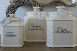 Tea Jar Medium 20 x14 cm Braxton Interiors