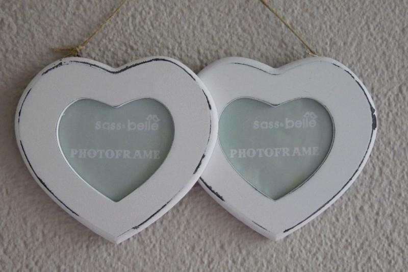 """Fotolijst """"Double Heart"""" Verkocht"""