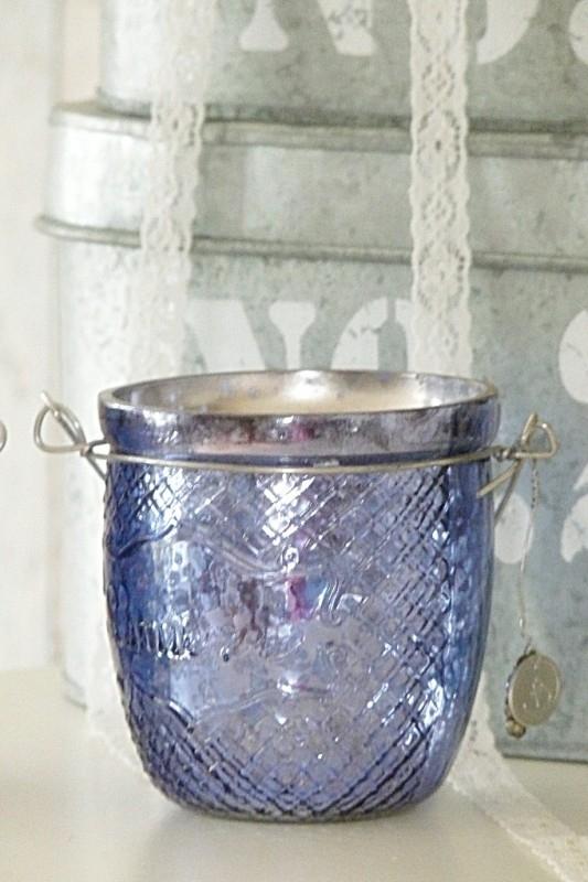 """Waxinelichthouder """"Lumiere Purple"""" Braxton Interiors"""