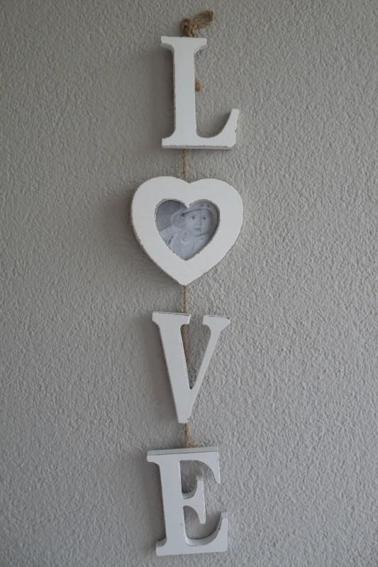 "Fotolijst ""LOVE LETTERS """