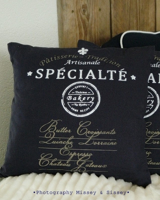 "Kussen ""Specialite Bakkery"""