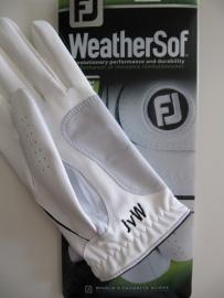 golfhandschoen met monogram