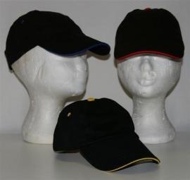 Kinderpet / kids cap met naam of monogram
