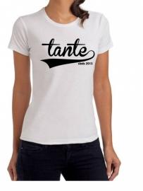 T-shirt 'sinds' (damesmodel)