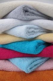 Handdoek standaard met naam 70 x 140 cm