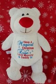 "Cubbie knuffel ""kerstbeer"""