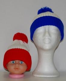 Kids pom pom hat