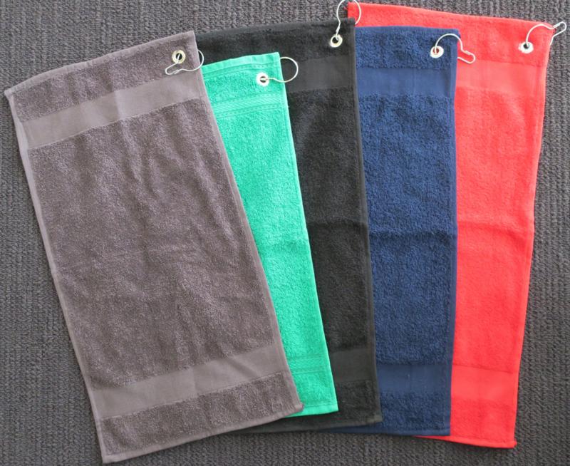 Golfhanddoek met naam (STANDAARD kwaliteit)