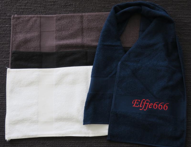 Fitness/sport handdoek met naam (STANDAARD kwaliteit)