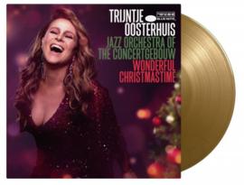 Trijntje Oosterhuis & Jazz Orchestra Of The Concertgebouw Wonderful Christmastime LP - Gold Vinyl-