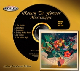 Return To Forever Musicmagic Numbered Limited Edition Hybrid Stereo SACD