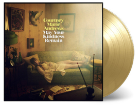 Courtney Marie Andrews May  Your Kindness Remain LP - Gold Vinyl-