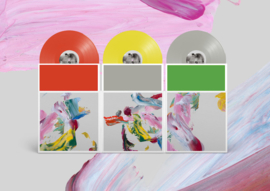 The National I Am Easy To Find 3LP - Tri Colour Vinyl-