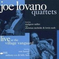 Joe Lovano Quartets Live A/t Village Vanguard LP - Blue Note 75 Years-