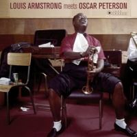 Louis Armstrong & Oscar Peterson Louis Armstrong Meets-hq- LP