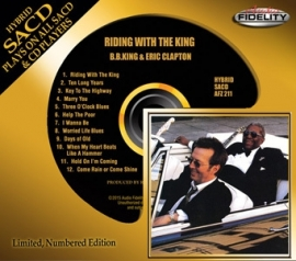 B.B. King & Eric Clapton Riding with the King Numbered SACD