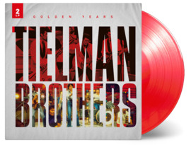 Tielman Brothers Golden Years 2LP - Red Vinyl-