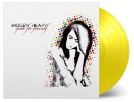 Imogen Heap Speak for Yourself LP - Yellow Vinyl