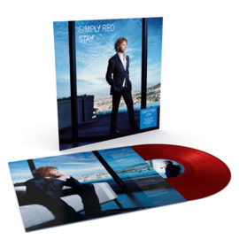 Simply Red Stay LP - Red Vinyl-