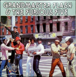 Grandmaster Flash and the Furious Five The Message LP - Red Vinyl-