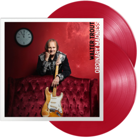 Walter Trout Ordinary Madness 180g LP -Transparent Red Vinyl-