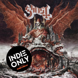 Ghost Prequelle LP -  Transparant Vinyl - Black Swirl -